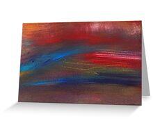 Abstract - Guash - Savana Greeting Card