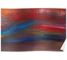 Abstract - Guash - Savana Poster