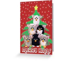Merry Weirdmas  Greeting Card