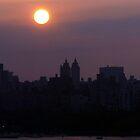 Early Morning Sunrise Over NYC II by Lilliana Méndez
