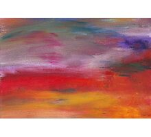Abstract - Guash & Acrylic - Pleasant Dreams Photographic Print
