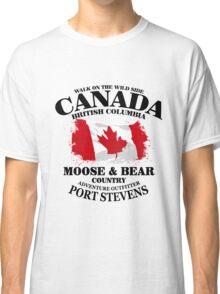 Maple Leaf - Canadian Flag - Vintage Look Classic T-Shirt