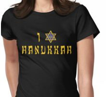 "Hanukkah ""I Love Hanukkah"" T-Shirt Womens Fitted T-Shirt"