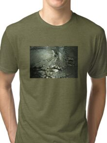 Contrast on Ice - I Tri-blend T-Shirt