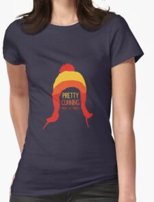 Pretty cunning Womens Fitted T-Shirt