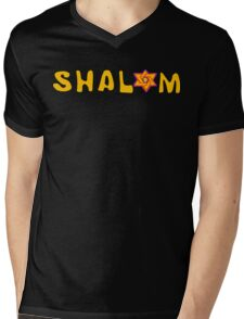 Shalom T-Shirt Mens V-Neck T-Shirt