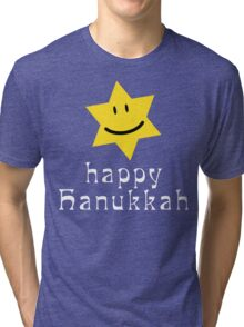 Happy Hanukkah T-Shirt Tri-blend T-Shirt