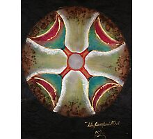 Four of cups crossroads  Photographic Print