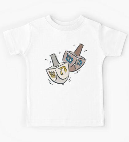 Dreidel Dreidel T-Shirt Kids Tee