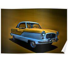 c1960 Nash Metropolitan Poster