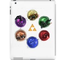 Legend Of Zelda Ocarina Of Time Bosses iPad Case/Skin