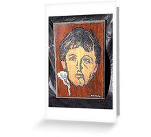 Paul McCartney Greeting Card