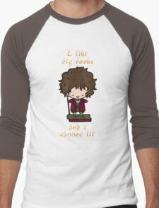 I Like Big Books - Bilbo Men's Baseball ¾ T-Shirt