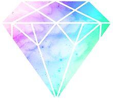 Rainbow Galaxy Diamond by Keelin  Small