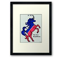 The New Republican Framed Print