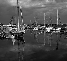 Nautical reflection by Manon Boily
