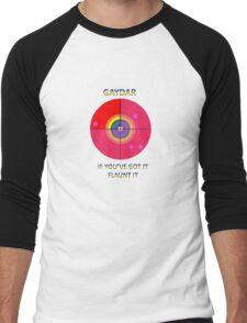 Gaydar: If You've Got It Flaunt It Men's Baseball ¾ T-Shirt