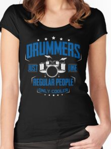 DRUMMER Women's Fitted Scoop T-Shirt