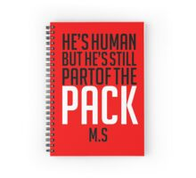 He's Pack Spiral Notebook