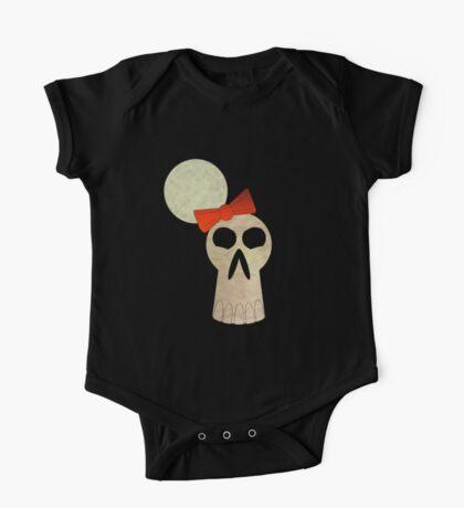 little miss skull  One Piece - Short Sleeve