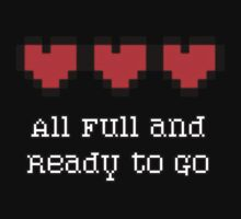 All Full and Ready to go - 8-Bit Hearts by HighDesign