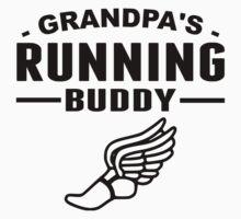 Grandpa's Running Buddy Baby Tee