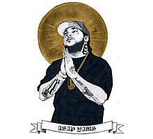 asap yams drawing Photographic Print