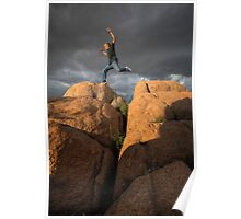 Rocks, Clouds, Action! Poster
