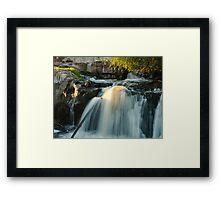 Upper Sioux Falls Framed Print