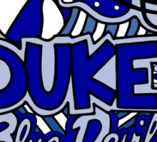 Duke Collage Sticker