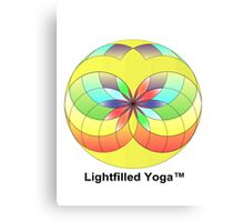 lightfilled yoga Canvas Print