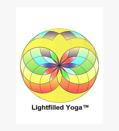 lightfilled yoga Photographic Print