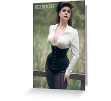 Equestrian Miss  Greeting Card