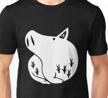 The Seven Deadly Sins - The Boar Sin of Gluttony (White) Unisex T-Shirt