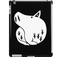 The Seven Deadly Sins - The Boar Sin of Gluttony (White) iPad Case/Skin
