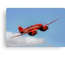 De Havilland DH88 Comet Racer G-ACSS Canvas Print
