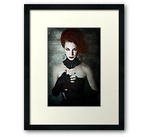 Gothic Noir Framed Print