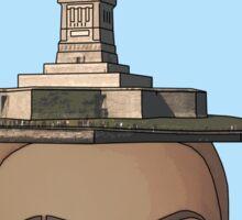 head of Liberty Sticker
