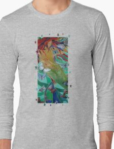 Swimming with Butterflies Long Sleeve T-Shirt