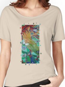 Swimming with Butterflies Women's Relaxed Fit T-Shirt