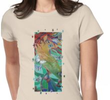 Swimming with Butterflies Womens Fitted T-Shirt