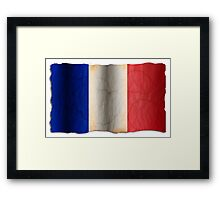 Flag of France  Framed Print