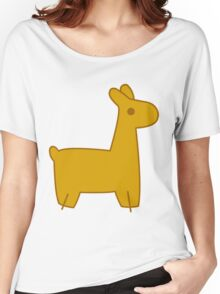 Mabel's Llama Sweater Women's Relaxed Fit T-Shirt