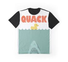 Jaws Rubber Duck 'Quack'  Graphic T-Shirt