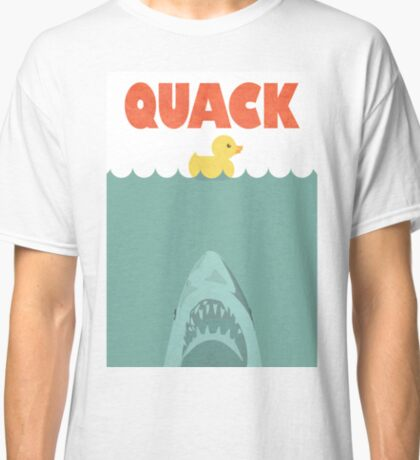 Jaws Rubber Duck 'Quack'  Classic T-Shirt