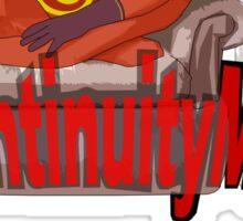 continuityman Sticker