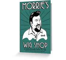 Goodfellas, Morrie's Wigs Shop Sign T-shirt  Greeting Card