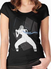 JK MANGA NOIR Women's Fitted Scoop T-Shirt