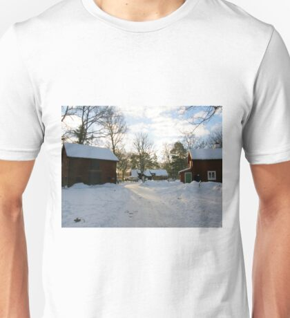 Winter in Apladalen Unisex T-Shirt