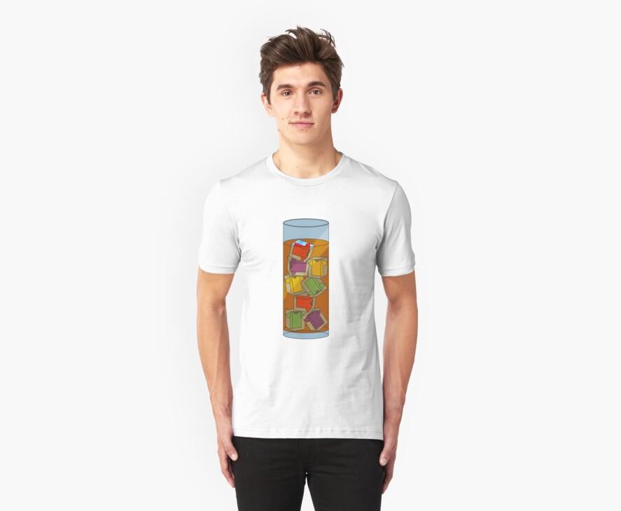 ice tea-shirt  by IanByfordArt